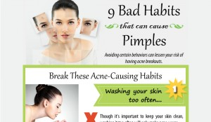 9 Habits that Can Cause Acne to Get Worse
