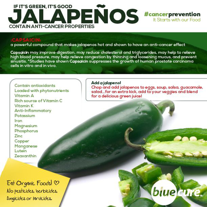 If Its Green Its Good Jalapenos Contain Anti Cancer Properties