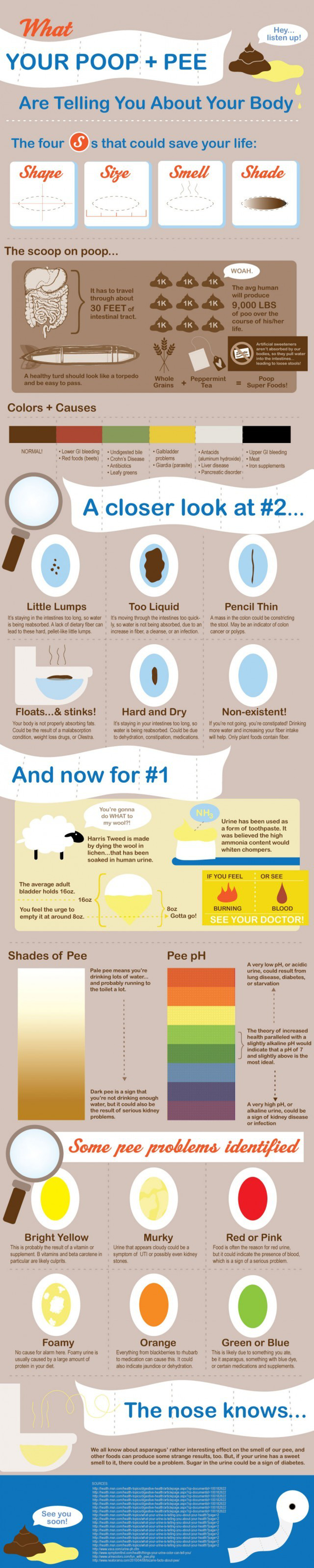 What Your Poop & Pee Are Telling You About Your Body