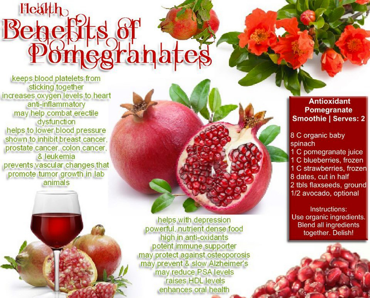 Pomegranate seeds: Benefits and tips - Health News