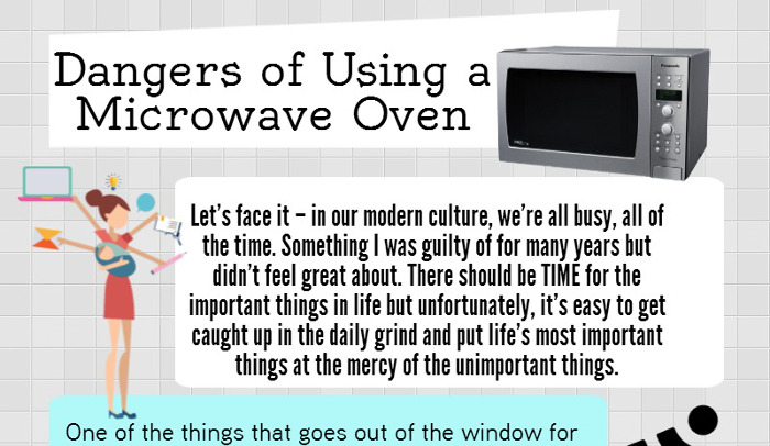 Dangers Of Microwave Ovens