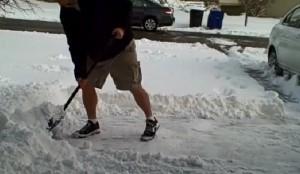 Calories Burned Shoveling Snow