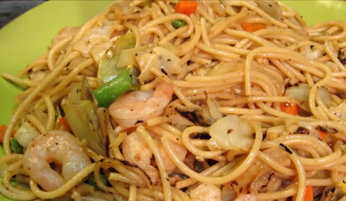 chow mein definition